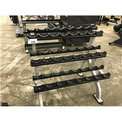 STARTRAC 3 TIER DUMBBELL STAND