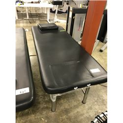BLACK MASSAGE TABLE