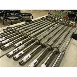 STAINLESS STEEL BARBELL