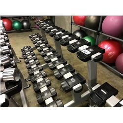 STARTRAC 3 TIER 30 COMPARTMENT DUMBBELL RACK