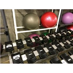 STARTRAC SINGLE TIER 10 COMPARTMENT DUMBBELL RACK