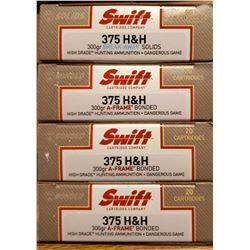 4 Boxes of Swift High Grade Ammunition