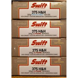 4 Boxes of Swift High Grade Ammunition