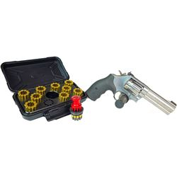 Smith & Wesson Model 617 .22 LR Pistol and Speed Loader