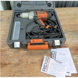 "Ridgid 1/2"" Electric Impact Driver R6300 in Hard Case"