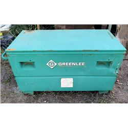 """Greenlee Large Metal Tool Chest 48""""Lx24""""Wx24""""H HD2448-27"""