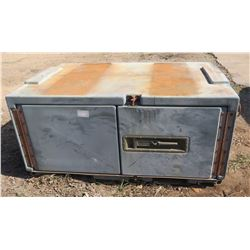 """The Willard Co. Container Mobility Metal 2 Door Box 62""""Lx42Wx29""""H"""