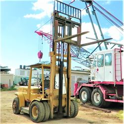 Hyster 195a Forklift (Starts/Runs/Lifts See Video)