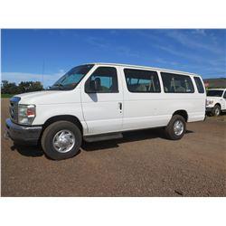 2009 Ford E350 Super Duty Extended Passenger Van V8 5.4L, 35,627 Miles, Lic. PYD364 (Starts &Runs, S