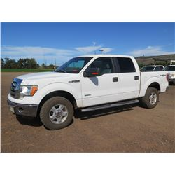 2011 Ford F150 Super Crew 4WD Truck, XLT, V6 3.5L Turbo Charge, 110,988 Miles, Lic. 897TTR (Starts &