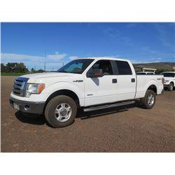 2011 Ford F150 Super Crew 4WD Truck, XLT, V6 3.5L Turbo Charge, 41,141 Miles, Lic. 153KBP (Starts &