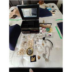 14 K Gold Earings & Costume Jewellery