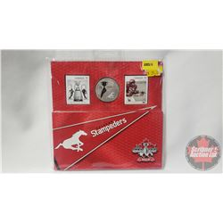RCM: Calgary Stampeders 2012 Coin & Stamp Collector Set