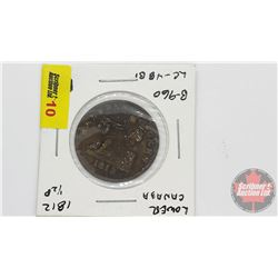 Lower Canada Half Penny Token 1812
