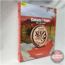 Canada Small Cent Collection IN Collector Binder (104 Coins) : 1920 - 2012 (Missing key dates)