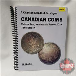 Charlton Standard Catalogue CANADIAN COINS 72nd Edition Volume One Numismatic Issues 2019