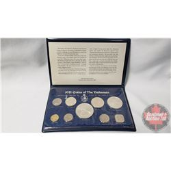 Franklin Mint Uncirculated Specimen Set 1971 Coins of the Bahamas