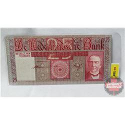 Netherlands Amsterdam 1941 $25 Gulden