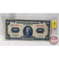 Nederland $10 Tien Gulden 1943