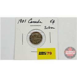 Canada Five Cent 1901