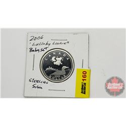 """Canada 2006 Sterling Silver """"Lullaby Loonie"""""""