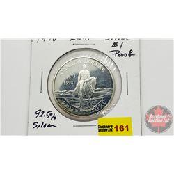 Canada Dollar RCMP 1873-1998 Silver Proof (92.5%)