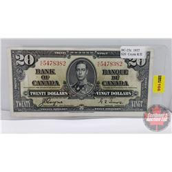 Canada $20 Bill 1937 : Coyne/Towers KE5478382
