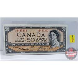 Canada $50 Bill 1954 : Beattie/Coyne AH4435292