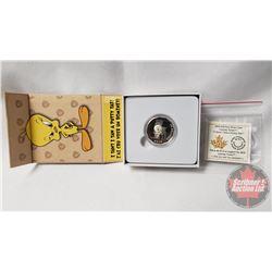 "RCM 2015 Looney Tunes $10 Fine Silver Coin (99.99%) ""I Tawt I Taw A Putty Tat!"""