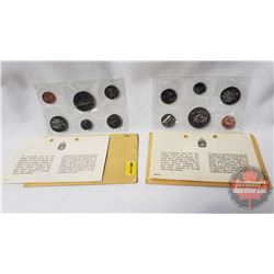 RCM (2) Uncirculated Coin Sets (1969; 1970)
