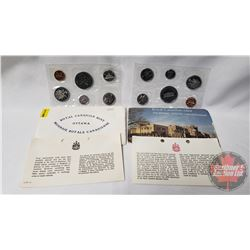 RCM (2) Uncirculated Coin Sets (1971; 1973)