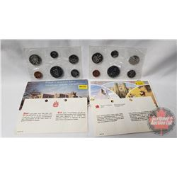RCM (2) Uncirculated Coin Sets (1975; 1976)