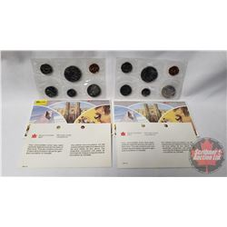 RCM (2) Uncirculated Coin Sets (1982; 1983)