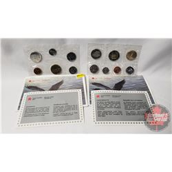 RCM (2) Uncirculated Coin Sets (1995; 1998)