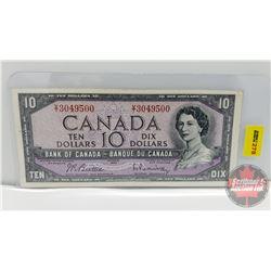 Canada $10 Bill 1954 : Beattie/Rasminsky VT3049500