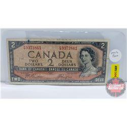 Canada $2 Bill 1954DF : Beattie/Coyne FB9373861