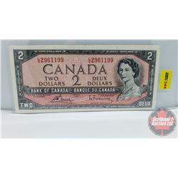 Canada $2 Bill 1954 : Bouey/Rasminsky LG2961199
