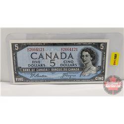 Canada $5 Bill 1954 : Beattie/Coyne WC2664121