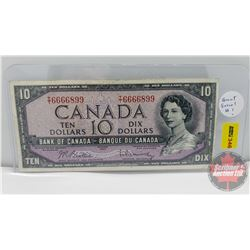 Canada $10 Bill 1954 : Beattie/Rasminsky TT6666899