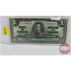 Canada $1 Bill 1937 : Osbourne/Towers EA2284147