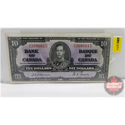 Canada $10 Bill 1937 : Osbourne/Towers AD3986615
