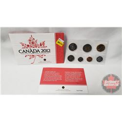 RCM Uncirculated Coin Set 2012 Canada