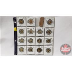 Canada Proof Toonies (15) (See Pics for Dates/Types)