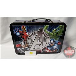 2014 Niue $2 Marvel Avengers 1 oz Proof Silver 4-Coin Set with Collector Tins & Case (Very Low Minta