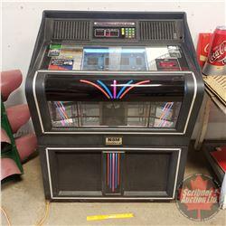 "Hyperbeam Laser Disc (CD) Juke Box w/Remote ""NSM The Performer Classic"" (47"" x 36"" x 24"") (Holds 100"