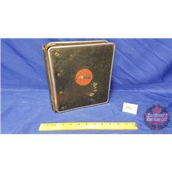"""Vintage Coca-Cola Sales Manual / Guide Binder (9-1/2"""" x 9"""")"""