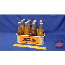 Nesbitt's Bottle Carrier with 12 Pack of Full Bottles (10 H x 11-1/2 W x 9 D)