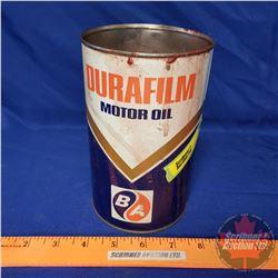 """Oil Tin: B/A Durafilm Oil (6-1/2""""H x 4""""Dia)"""