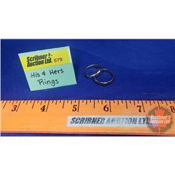 His & Her Rings : (His GB Murphy 10k) & (Hers Hong Kong - Note split)