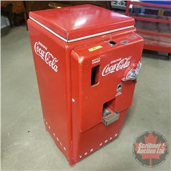"Cavalier Coca-Cola Vending Machine ""Drink Coca-Cola Ice Cold"" Top Load (41""H x 18""W x 23""D) c.1940's"